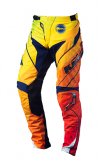 pantalon performance split rouge face