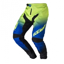 pantalon elite noir bleu lime