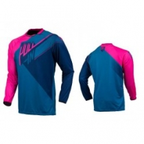 maillot-bmxpull in bleu rose