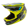 casque d3 composite black yellow