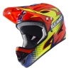 casque kenny orange bleu downhill